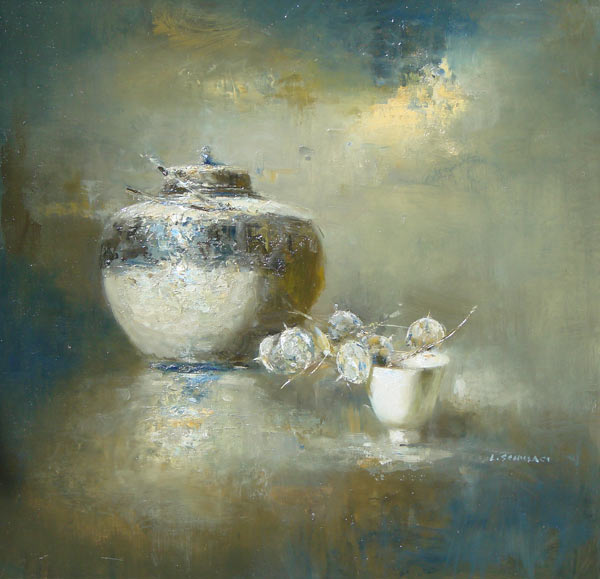 "Lindy Schillaci - ""Chinese Pot With Teacup"""